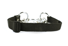 Pure Control Dog Margindale Collar. High quality leather and nylon dog products. Collars, Leashes, Harnesses, Muzzles, Professional Equipment.
