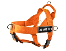 DT Universal No Pull Dog Harness - Orange