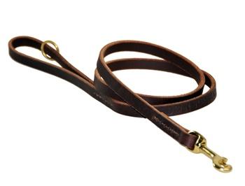 No Nonsense 1 2 Quot Full Grain Premium Leather Dog Leash