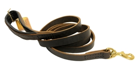 Handmade Leather Dog Leash. Leather and Nylon Dog Products. Leashes, Collars, Harnesses, Muzzles, Professional Equipment.