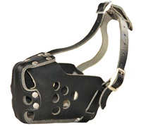 Classic K9 Leather Dog Muzzle. Leather dog muzzles. Agitation leather dog muzzles. Canine agitation leather dog muzzles . High quality leather and wire basket muzzles. Professional equipment. 