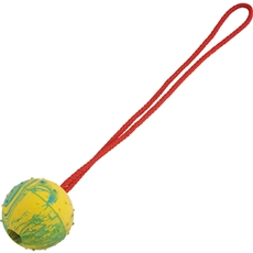 Herm Sprenger Rubber Ball With Rope