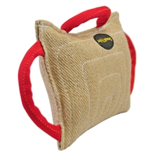 Double Jute Wide Bite Pillow