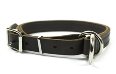 Strictly Business | Leather Dog Collar