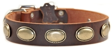 Retro Rulz | Leather Dog Collar