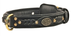 Dean's Legend Black | Leather Dog Collar
