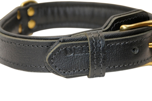 Leather Dog Collar Larger Photo Email A Friend