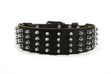D&T 4 Row Spikes | Spiked Dog Collar