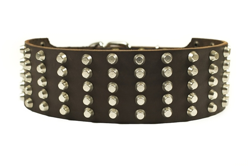 Wide Stud Collar Widest Studded Dog Collar Dean Amp Tyler