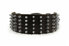 Wide Spike | Spiked Dog Collar