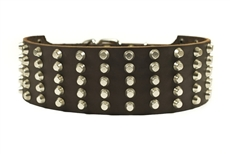 Wide Stud | Studded Dog Collar