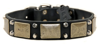 The Antique | Leather Dog Collar