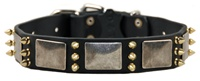 Devilish Della | Spiked Dog Collar