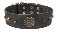 Mars | Leather Dog Collar