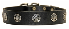 The Warrior | Leather Dog Collar