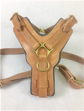 The Victory No Pull | Leather Dog Harness