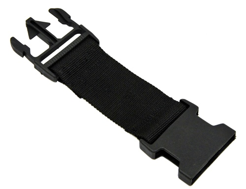 strap extension for nylon harnesses