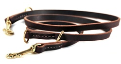 D&T Dynamite | Leather Dog Leash