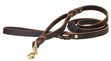 Braidy Bunch | Leather Traffic Leash