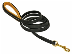 Soft Touch Thin | Leather Dog Leash