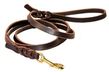 Nocturne | Leather Dog Leash