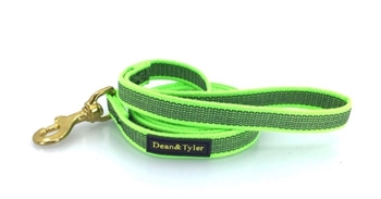 6 Ft. Stronghold Lightweight Dog Leash w/ Brass Hardware